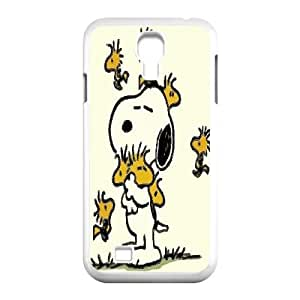 Samsung Galaxy S4 I9500 Phone Case White Charlie Brown and Snoopy VKL3062604