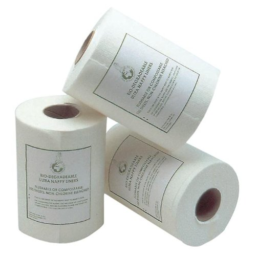 Earthlets Biodegradeable Ultra liners - roll of 100 Mother-ease