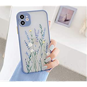 A.S. PLATINUM Translucent Shockproof TPU PC Camera Protection Back Cover Case Compatible for Apple iPhone 11 6.1 inch…