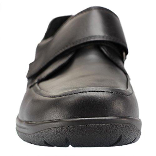 Waldläufer Palmer 633301 174 001 Mannen Pantoffel Halbschuh Zwart (black)
