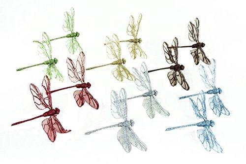 (Renaissance 2000 Dragonflies Decor, 5.91-Inch, Set of)