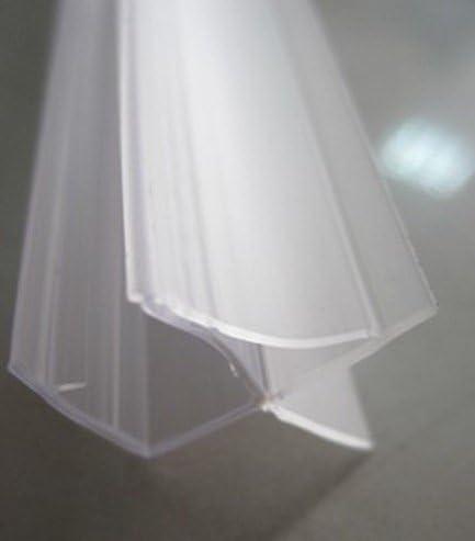 6 mm de cristal para baño vidrio templado de seguridad con texto ...