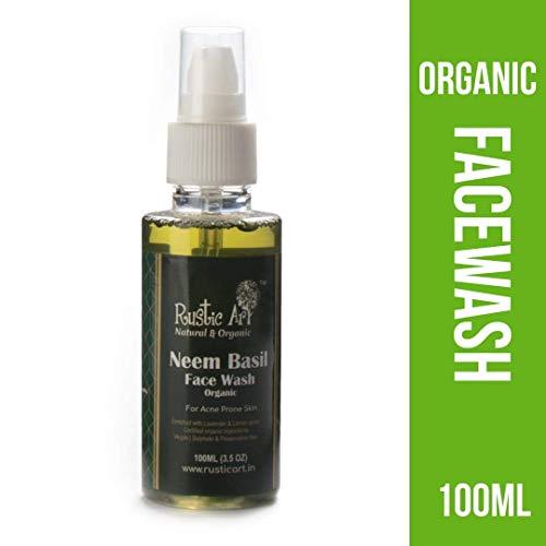 Rustic Art Organic Neem Basil Face Wash