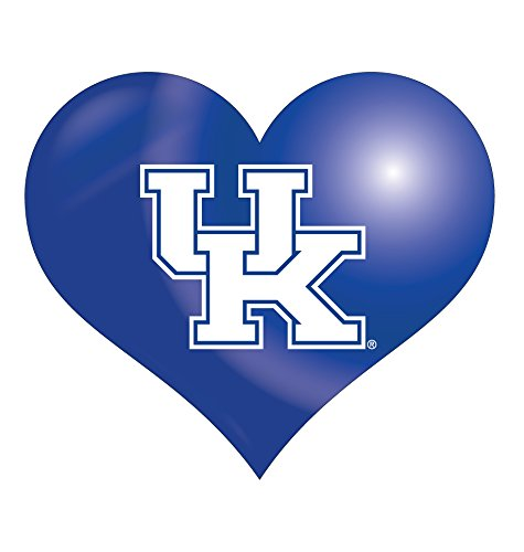 Kentucky Wildcats Heart - Kentucky Wildcats Heart Magnet Single