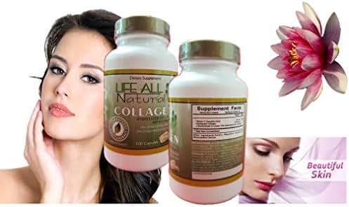 Hidro Colagina, Collagen Hidrolyzed + Vitamin C, Colageina 10 Colagen 1000 Mg