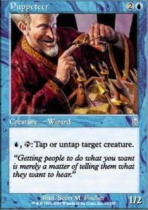 Magic: the Gathering - Puppeteer - Odyssey - Foil by Magic: the (Gathering Odyssey Foil)