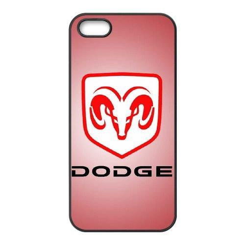Dodge 002 coque iPhone 4 4S cellulaire cas coque de téléphone cas téléphone cellulaire noir couvercle EEEXLKNBC24646