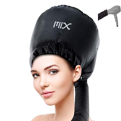 In the Mix Bonnet Hood Hair Dryer Attachment - Adjustable, Black, Size No Size