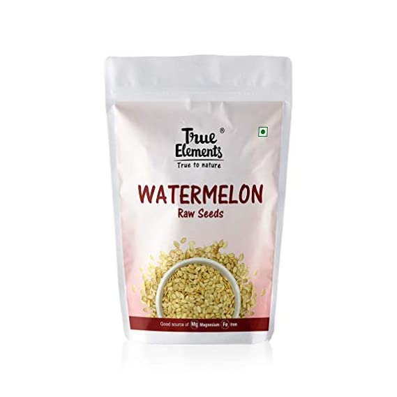 True Elements Raw Watermelon Seeds for Eating 150 gm
