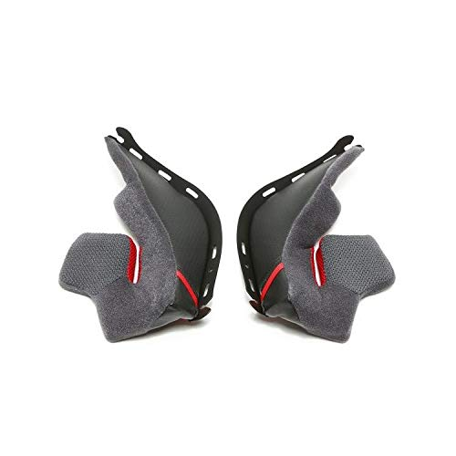 Replacement Pads Fly (Shoei 0209-4005-35 Rf-1200 Cheek Pad Set 35mm)