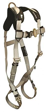 FallTech 7008t, titanio 1-D arnés de cuerpo completo, tamaño ...