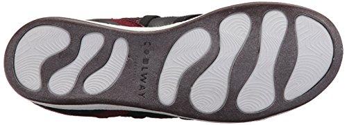 Slowhi Mode Sneaker Femmes Bourgogne