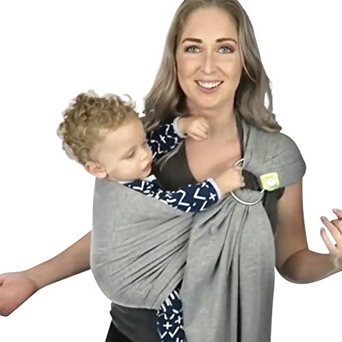 Baby Wrap Carrier All-in-1 Stretchy Baby Wraps - Baby Sling - Infant Carrier -...