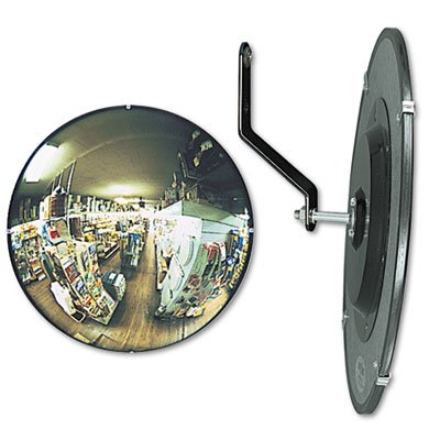 SEE ALL 160 degree Convex Security Mirror, 26'' dia., Sol...