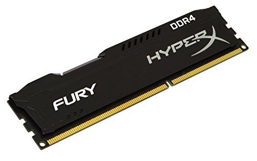 (Kingston HyperX FURY Black 8GB 2133MHz DDR4 Non-ECC CL14 DIMM Desktop Memory (HX421C14FB/8))