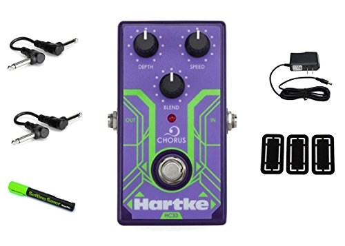 Hartke Electric Bass Guitars (Hartke HC33 Analog Bass Chorus PRYMAXE PEDAL BUNDLE)