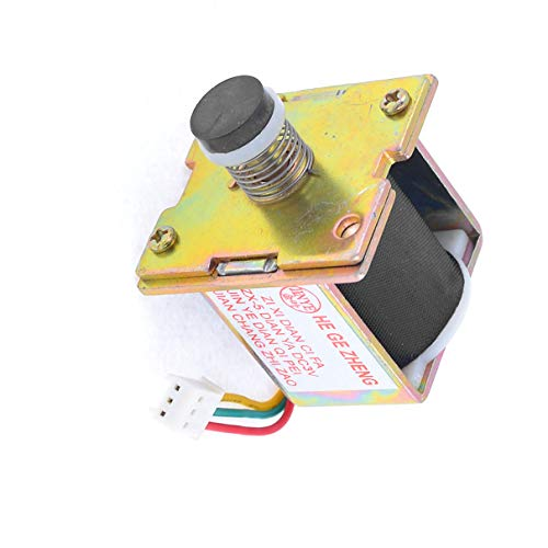 Aexit LPG Gas Valves Water Heater 3 Pin Connector Solenoid Valve Solenoid Valves DC 3V -