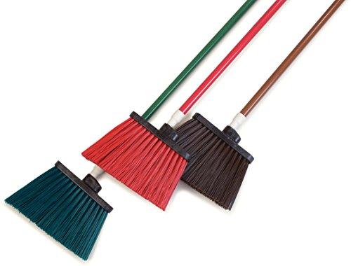 Carlisle 4108301 Sparta Duo-Sweep Unflagged Angle Broom with Fiberglass Handle, 54'' Length, Brown by Carlisle (Image #6)