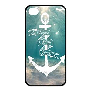 Danny Store 2015 New Arrival Protective Rubber Cover Case for iPhone 4,iPhone 4s Cases - Sleeping with Sirens