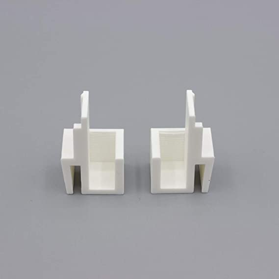 3DKStore - Juego de 4 Pares de guías Blancas compatibles con ...