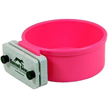 Amazon.com : Kennel-Gear 20 oz Plastic Dog or Cat Bowl Kit