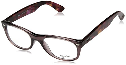 Rx Prescription Eyeglass Frame - Ray-Ban RX5184 New Wayfarer Eyeglasses Opal Brown 54mm
