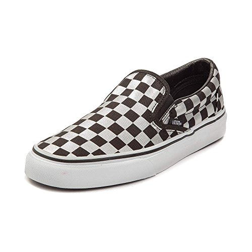 Vans Authentieke Skateschoen (heren 9 / Dames 10.5, Slip On Metallic 7119)