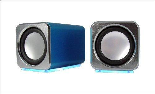 Ricco® MD02 Computer Speaker (Blue)