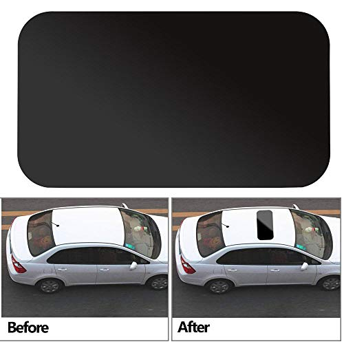 Auto Simulation Panoramic Sunroof Waterproof with Decorative Strip Auto Decal Car Sticker PVC Personalized Stickers 83x43cm