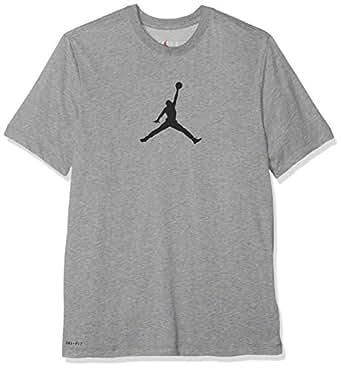Nike Men's ICON 23/7 TEE SPSU19 T-Shirt, Grey, Medium
