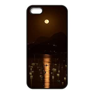 Creative Bright Moon Cell Phone Case For Iphone 6 plus 5.5