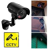 Cámara simulada Cámara de vigilancia Falsa CCTV Seguridad