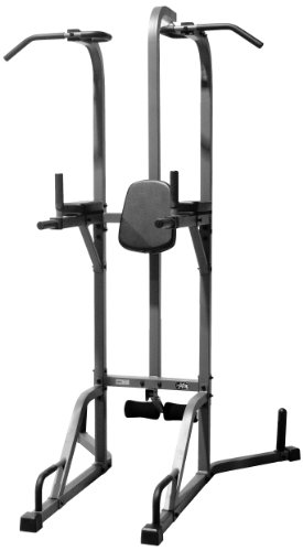 XMark Deluxe Power Tower and Heavy Bag Stand (Heavy Bag And Speed Bag Stand)