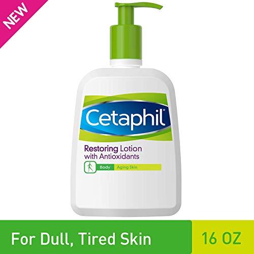 Cetaphil Restoring Lotion with Antioxidants for Aging Skin, 16 oz. Bottle (Best Skin Lotion For Aging Skin)