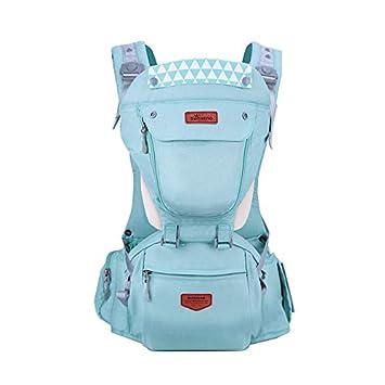 SUNVENO Babytrage hipseat babytrage ergonomische babytrage babytrage 3 in 1 kindertrage bis 20kg babytrage mit kapuze baby carrier 0-36 (Grau) HC-01
