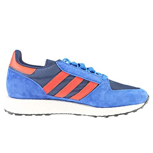 Roalre adidas Forest Maruni Fitnessschuhe Azupot Grove Blau grau Herren 0 0405Cq6w