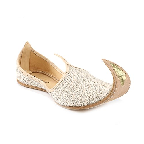 Cuña Shoes Shalimar UK Hombre GS Dorado Sandalias con OXpqOwdF