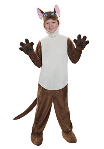 [Child Siamese Cat Large] (Siamese Cat Costumes)