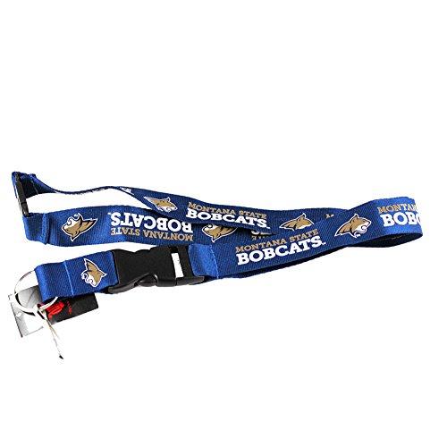 aminco NCAA Montana State Bobcats Team Lanyard, Blue