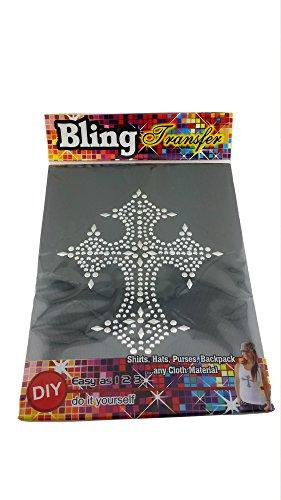 Bling Iron On Rhinestone Crystal T-shirt Transfer