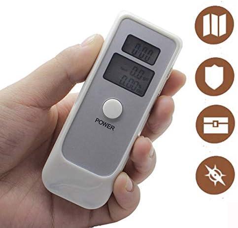 LJJJKCYS Nouveaux Alcootests /Éthylotest Portable LCD Alcootest /Électronique Portatif Capteur Semi-conducteur