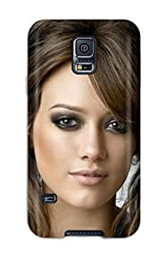 Galaxy S5 Case Cover - Slim Fit pc Protector Shock Absorbent Case (hilary Duff )