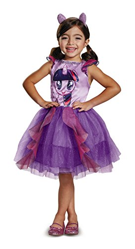 Twilight Sparkle Movie Toddler Classic Costume, Purple, Medium (3T-4T)