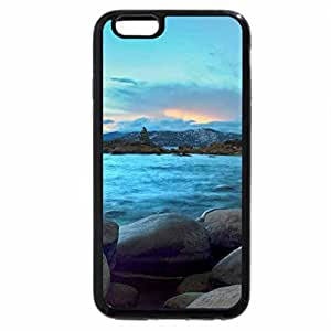 iPhone 6S / iPhone 6 Case (Black) hidden beach lake tahoe nevada