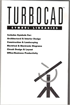 Turbocad Symbol Libraries includes symbols for Architctural