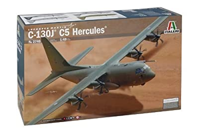 Italeri 1:48 2746 RAF C-130J C5 HERCULES MODEL AIRCRAFT KIT by Italeri