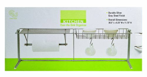 36 1/ 2-inch Chrome Kitchen Center