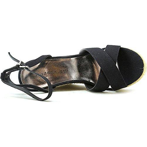 Madden Girl Viicki Women Us 8 Sandalo Con Zeppa Nera