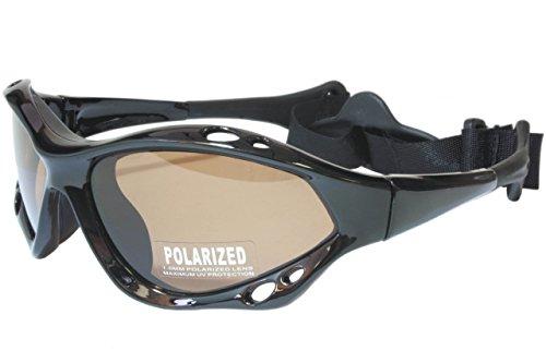 G&G Polarized Water Sport Sunglasses Surfing Kiteboarding Jetski (Bronze Ski)