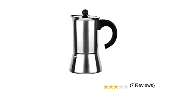 Ibili 611304 - Cafetera Indubasic 4 Tazas: Amazon.es: Hogar